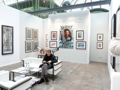 christian berst art brut booth, *art paris art fair*, le grand palais, paris, from march 28th to april 1st, 2013. - © christian berst art brut, christian berst — art brut