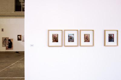 vue de la *biennale internationale de la photographie*, biennale de l'image possible, liège, belgique, du 20 août au 16 octobre 2016. - © biennale de l'image possible, photo: muriel thies, christian berst — art brut