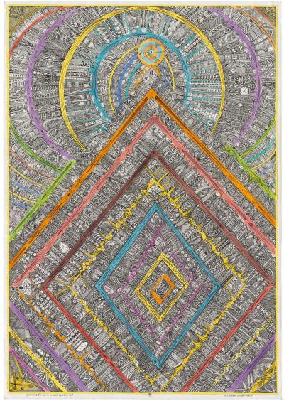 unificacion de la ciudad cristal - © christian berst — art brut