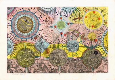 particulas de tu A.D.N (la celula) - © christian berst — art brut