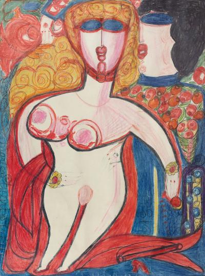 Marie Stuart - © christian berst — art brut