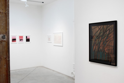 exhibition view of *in abstracto #2*, christian berst art brut, paris, 2020. - © christian berst art brut, christian berst — art brut
