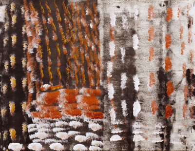 sans titre (rythmes Eric Satie) - © christian berst — art brut