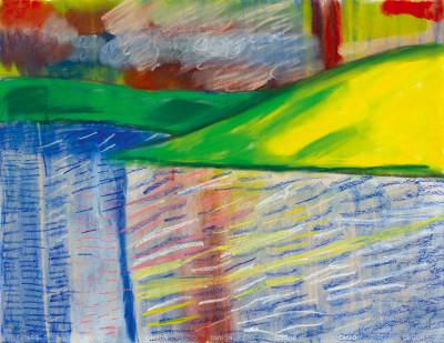 sans titre (paysage) - © christian berst — art brut