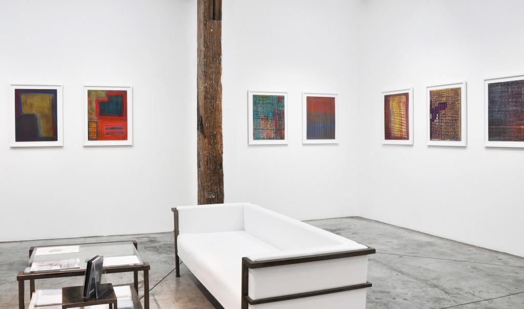 exhibition view of *anton hirschfeld : soul weaving*, christian berst art brut, paris, 2019. - © christian berst art brut, christian berst — art brut