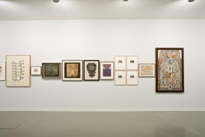 exhibition view of *the electric eye*,  curators : antonia gaeta and pilar soler, la casa encendida, madrid, spain, 2019. - © la casa encendida, christian berst — art brut
