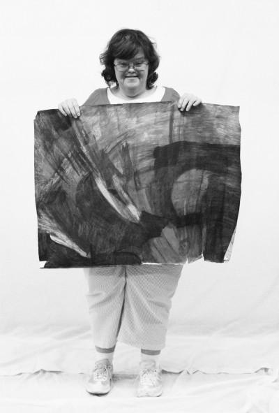 portrait de Beverly Baker - © christian berst — art brut