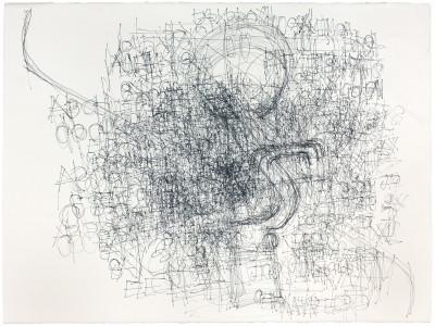 untitled  (ink w/circle) - © christian berst — art brut