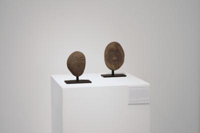 exhibition view of *davood koochaki : a persian tale*, christian berst art brut, paris, 2013. - © christian berst art brut, christian berst — art brut