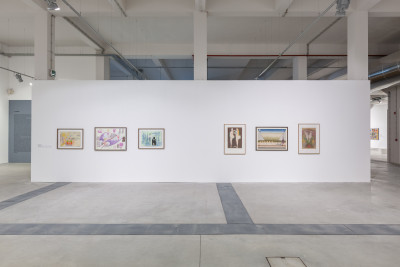 exhibition view of *historias de la violencia*, curator: gustavo giacosa, oliva creative factory, sao joao da madeira, 2018. - © oliva creative factory, christian berst — art brut