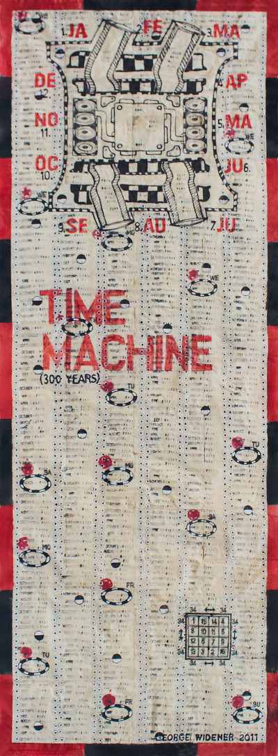 Time Machine - © christian berst — art brut
