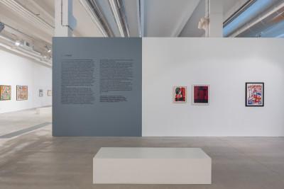 exhibition view of *historias de violencia*, curator: gustavo giacosa, oliva creative factory, sao joao da madeira, portugal, 2018. - © ©️ oliva creative factory, christian berst — art brut
