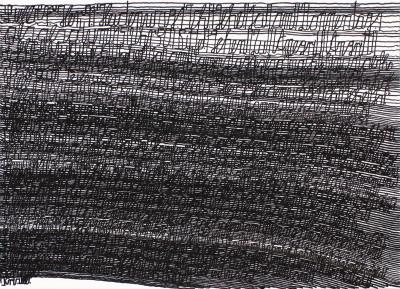 Untitled (Letter n°159) - © christian berst — art brut