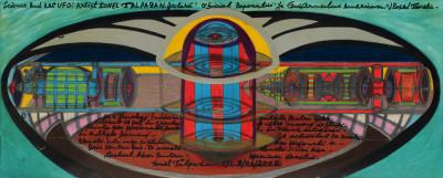 untitled (science and art UFO) - © christian berst — art brut