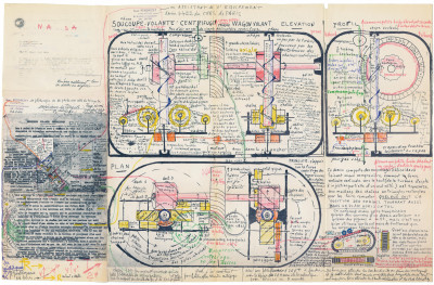 untitled (soucoupe volante centrifuge) - © christian berst — art brut