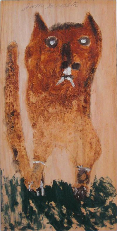 sans titre, dog - © christian berst — art brut
