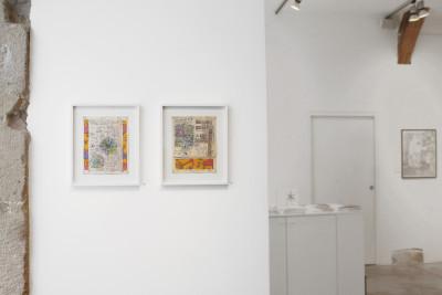 Exhibition view of *John Devlin, nova cantabrigiensis*, christian berst art brut, Paris, 2013 - © ©christian berst art brut, christian berst — art brut