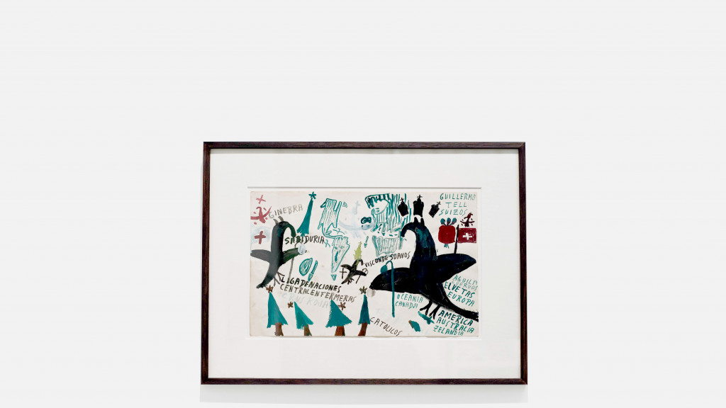 vue de l'exposition *anibal brizuela : orbo ab chao*, christian berst art brut, paris, 2019. - © ©️ Elena Groud, christian berst — art brut
