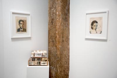 Exhibition view of *Jorge Alberto Cadi : El Buzo*, christian berst art brut, Paris, 2019 - © ©christian berst art brut, photo: Elena Groud, christian berst — art brut