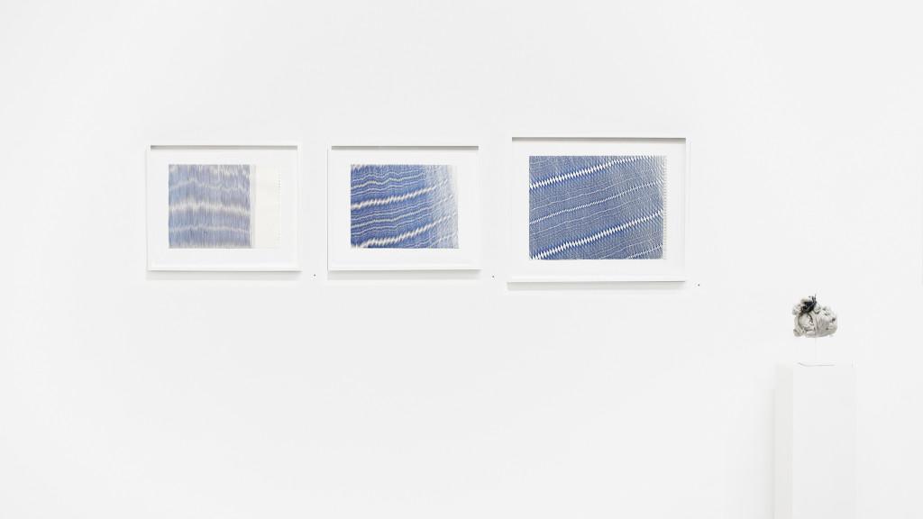 vue de l'exposition *in abstracto #2*, christian berst art brut, paris, 2020. - © christian berst art brut, christian berst — art brut