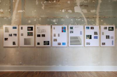 vue de l'exposition *julius bockelt - phase shifter*, museum folkwang, essen, allemagne, 2018. - © museum folkwang, christian berst — art brut