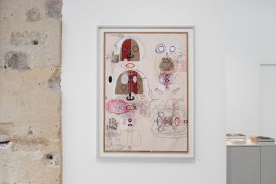 Vue de l'exposition *in the flesh : corps véritables*, christian berst art brut, Paris, 2020 - © ©christian berst art brut, christian berst — art brut