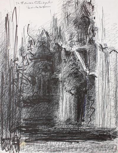 sans titre (St.Patrick cathedral) - © christian berst — art brut