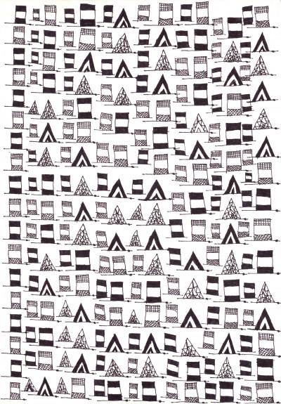 queste sono le bandiere belle - © christian berst — art brut