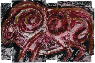 sans titre (période Darius) - © christian berst — art brut
