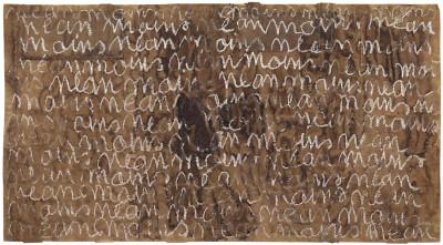 sans titre (période Saint-Martin) - © christian berst — art brut