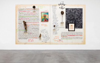 exhibition view of *new images of man*, curator : alison m. gingeras, blum & poe gallery, los angeles, united states, 2020 - © photo: makenzie goodman, christian berst — art brut