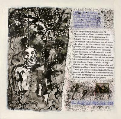 Mein Erhängter (Mon (homme) pendu) - © christian berst — art brut