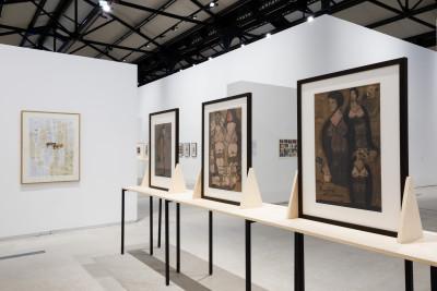 Exhibition view of *Photo Brut, Bruno Decharme & compagnie collection*, Mécanique Générale, Arles, 2019 - © © Bruno Decharme & compagnie collection, christian berst — art brut
