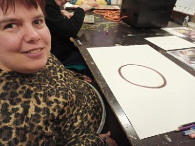 séverine hugo - © la s grand atelier, christian berst — art brut