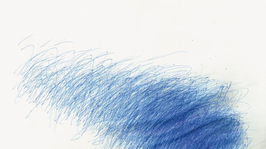 Yuichi Saito, Urawa reds, circa 2005. encre sur papier, 38.2 x 54.2 cm - © christian berst art brut, christian berst — art brut