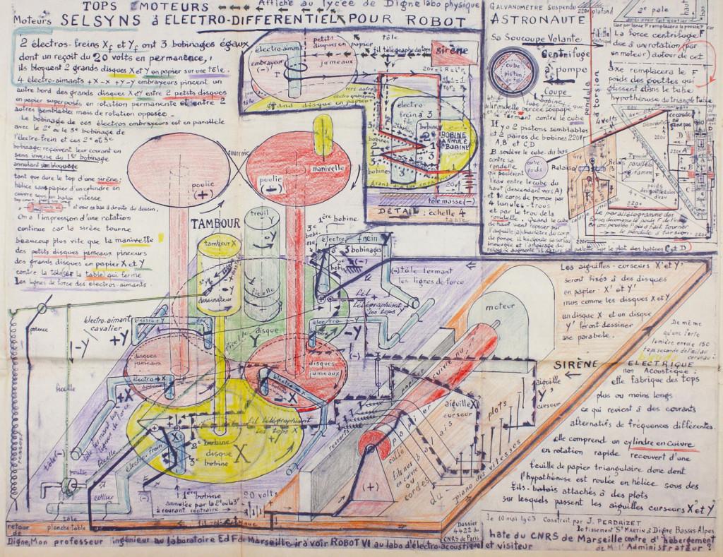 Anatomies of the automaton - © christian berst — art brut