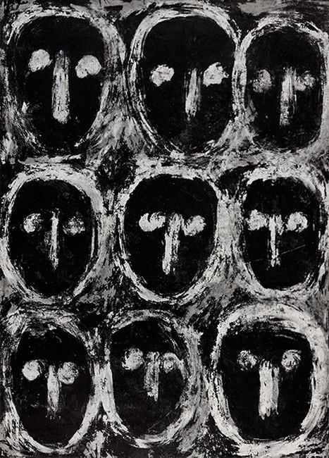 Michel Nedjar: Presences - © christian berst — art brut
