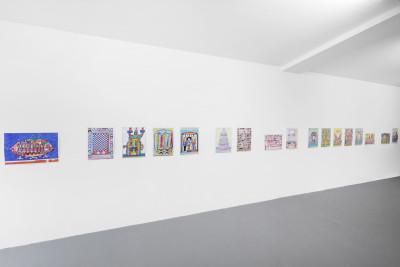 Vue de l'exposition *epilogue*, biennale de berlin pour l'art contemporain, Berlin, 2020 - © © biennale de berlin pour l'art contemporain, christian berst — art brut
