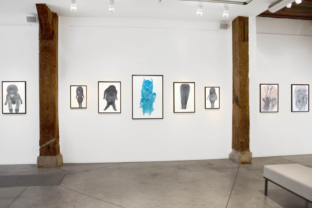 Exhibition view of *Davood Koochaki : a persian tale*, christian berst art brut, Paris, 2013 - © ©christian berst art brut, christian berst — art brut