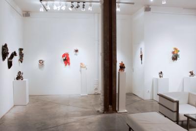 Exhibition view of *Franco Bellucci : as beautiful as ....*, christian berst art brut, Paris, 2015 - © ©christian berst art brut, christian berst — art brut