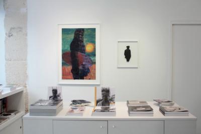 Exhibition view of *José Manuel Egea : Lycanthropos*, christian berst art brut, Paris, 2016 - © christian berst art brut, christian berst — art brut