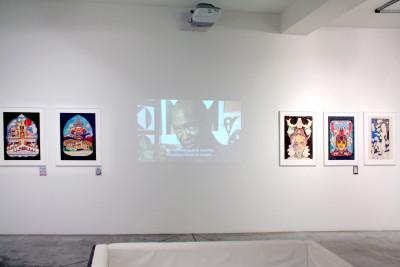 Exhibition view of *Prophet Royal Robertson : space gospel*, christian berst art brut, Paris, 2016 - © ©christian berst art brut, christian berst — art brut
