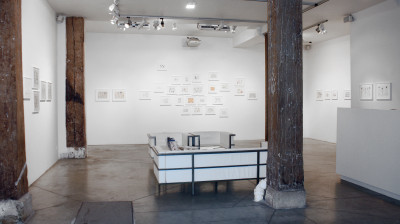 exhibition view of *marilena pelosi : catharsis*, christian berst art brut, paris, 2017. - © christian berst art brut, christian berst — art brut