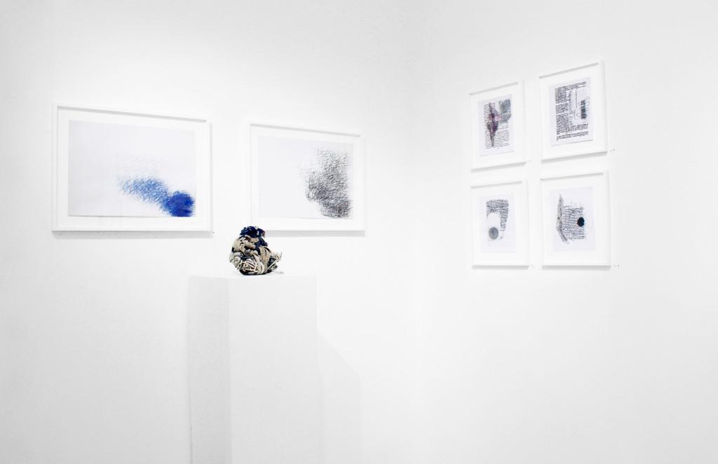 vue de l'exposition *in abstracto*, christian berst art brut, paris, 2017. - © christian berst art brut, christian berst — art brut