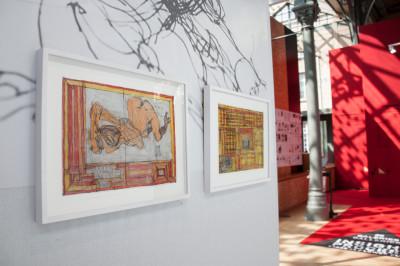 stand christian berst art brut, *drawing now art fair*, le carreau du temple, paris, 2019. - © christian berst art brut, christian berst — art brut