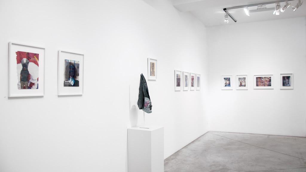 exhibition view of *josé manuel egea : lycanthropos II*, christian berst art brut, paris, 2019. - © christian berst art brut, christian berst — art brut