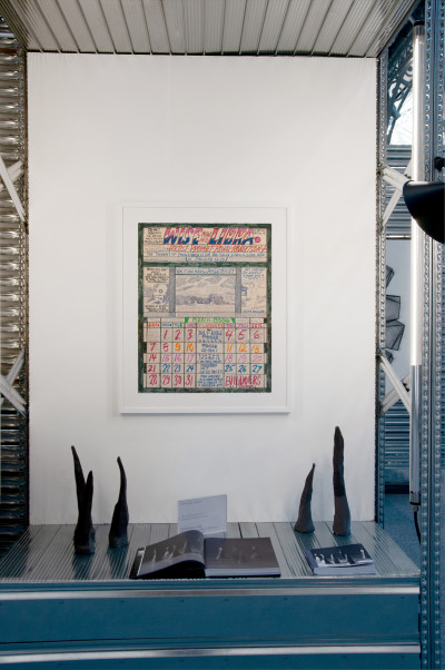 stand christian berst art brut, *galeristes*, le carreau du temple, paris, 2019. - © christian berst art brut, christian berst — art brut
