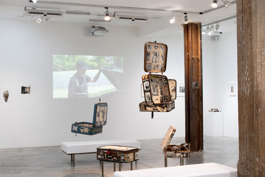 exhibition view of  *jorge alberto cadi : el buzo*, christian berst art brut, paris, 2019. - © christian berst art brut, photo: elena groud, christian berst — art brut