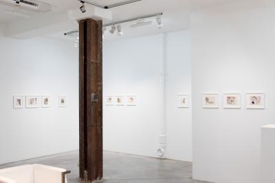 Exhibition view of *zdeněk košek : dominus mundi*, christian berst art brut, Paris, 2020 - © ©christian berst art brut, christian berst — art brut