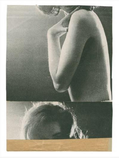 Katrien de Blauwer, *Isabelle (6)*, 2016, photographic collage, 5,1 × 7 in, unique piece - © © Katrien de Blauwer / Courtesy Galerie Les filles du calvaire, christian berst — art brut